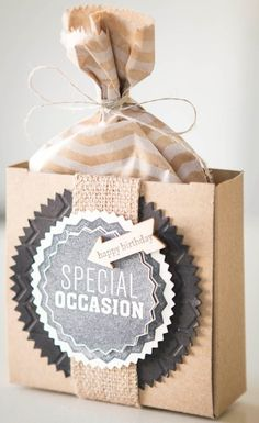 So Shelli - So Shelli Blog - A Gift with a Personal Touch Stampin' Up!