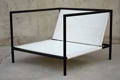 Seating Series 1.2.3. / Chair / Available in white or black cording