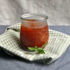 Peach and Amaretto Jam  adapted from The Blue Chair Jam Cookbook