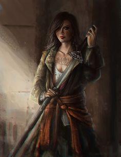 epic fantasy art [by anoratheirin]