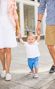 Family spring fashion | family portrait inspiration