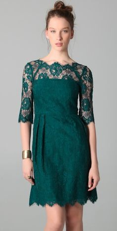 Milly Celia Lace Dress. Great color.