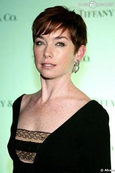 Julianne Nicholson's short pixie is gorgeous.  It really brings out her green eyes and petite frame.