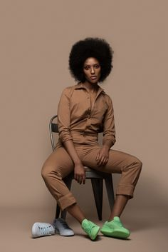 A lot of people are collaborating with puma to create shoes. They say puma gives them more range than other shoe brands would. Solange and her puma are very trendy right now. -Jalea Crump