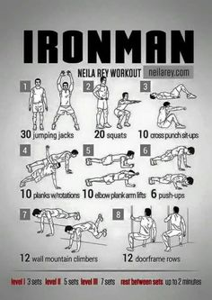 Ironman Neila Rey Workout | Repinned https://de.pinterest.com/muskelfarm/