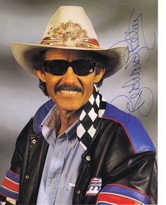 richard petty | Richard Petty Signed Picture Image Follow us @ https://www.pinterest.com/livescores/