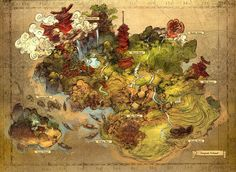 Old School RPG Map cartography | Create your own roleplaying game material w/ RPG Bard: www.rpgbard.com | Writing inspiration for Dungeons and Dragons DND D&D Pathfinder PFRPG Warhammer 40k Star Wars Shadowrun Call of Cthulhu Lord of the Rings LoTR + d20 fantasy science fiction scifi horror design | Not Trusty Sword art: click artwork for source