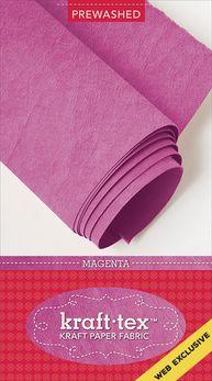 kraft-tex Roll Prewashed Magenta