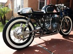 white wall tires cafe racer
