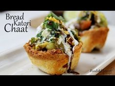 Bread Katori Chaat Recipe | Katori Chaat Recipe - Foods And Flavors