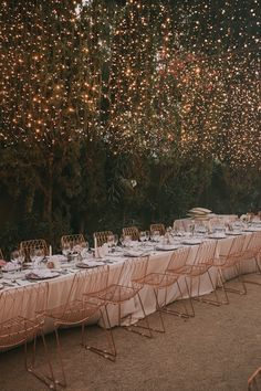 Setting the mood is a serious job when it comes to your wedding, so we're sharing gorgeous fairy light designs that add instant romance! Wedding Themes, Wedding Designs, Wedding Decorations, Wedding Ideas, Aisle Decorations, Wedding Favors, Diy Wedding, Wedding Invitations, Fairy Lights Wedding