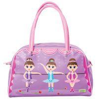 Bobble Art Ballerina Large Matte Bowling Bag www.mamadoo.com.au #mamadoo #bags #wallets