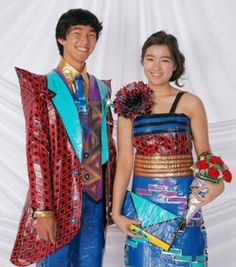 Check out Kelvin and Kailie in the Duck® brand Stuck At Prom® Scholarship Contest & vote now!! Their duck tape outfits are bomb(: