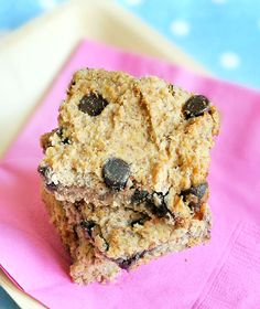 The healthiest blondies you will ever eat (with over 400 positive reviews on the post!) Gluten Free Chickpeas
