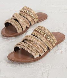 Rag & Co Leather Sandal - Women's Shoes   Buckle