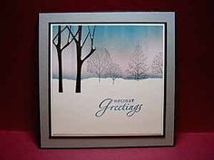 BRAYERED SKY TECHNIQUE--this site offers great examples--Splitcoaststampers - Tutorial by Michelle Zindorf