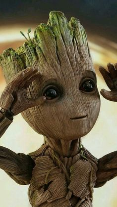 Mayor Groot of Chicago Cute Disney Wallpaper, Cute Cartoon Wallpapers, Marvel Art, Marvel Heroes, Marvel Avengers, Baby Groot Drawing, Avengers Wallpaper, Cute Drawings, Images