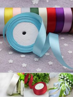 [Visit to Buy] 10-20MM Cake Candy Box Ribbon DIY Artificial Flower Weddings Belt Strap Floristry Wedding Party Decoration Kids Child Gift Decor #Advertisement