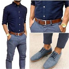 Casuals Confused between a business look and a casual look? Business casual is your treat!Confused between a business look and a casual look? Business casual is your treat! Fashion Mode, Look Fashion, Mens Fashion, Trendy Fashion, Mode Outfits, Fashion Outfits, Fashion Tips, Fashion Trends, Fashion Clothes