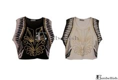 Php480 Britney Blouse (Black and White)