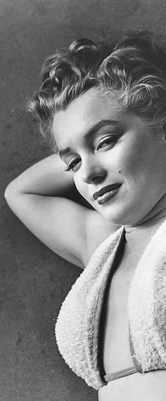 Marilyn. Photo by Phillipe Halsman, 1952.