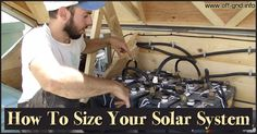 How to Size Your Solar System