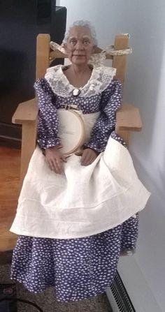 1996 'Lovie' Daddy Long Leg's Porcelain Doll (Karen Germany Collection)