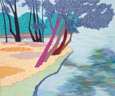 És erről a fáról vetettem magam tarzanésdzsenként az olajos habokba Abstract Artwork, Abstract, Painting, Artwork