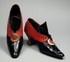 Would love to wear these! Shoes by F Pinet, ca 1919 France, LACMA Look Vintage, Vintage Shoes, Vintage Outfits, Edwardian Fashion, Vintage Fashion, Edwardian Shoes, French Fashion, Indian Fashion, Mundo Hippie