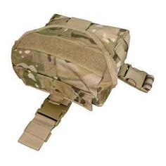 Condor Crye Precision Licensed Tactical Drop Leg Dump Pouch - Multicam Pattern, Tactical Gear/Apparel, Pouches, Multicam Pouches - Evike.com Airsoft Superstore