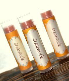 Creamsicle Lip Balm by orangethyme on Etsy, $3.25
