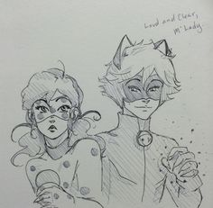 and chat noir likes marinette and not ladybug | Tumblr