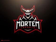 Mortem Esports Devil Warrior Full Logo by Derrick Stratton