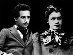 ..is it just me or does Einstein look a little like Shia LaBeouf here??Albert Einstein and Mileva Maric