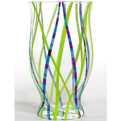 Just add duck tape on the vase