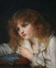 (Jean-Baptiste Greuze, 1725-1805, French painter) 1
