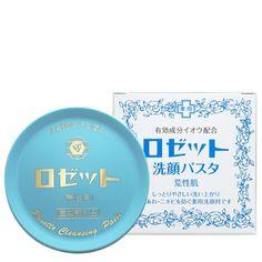 JAPAN Rosette Sengan cleansing Pasta face wash cleanser for rough skin Dry Acne Prone Skin, Acne Skin, Dry Skin, Facial Wash, Face Skin Care, Facial Cleansing, Face Cleanser, Skin Treatments, Skin Care Tips