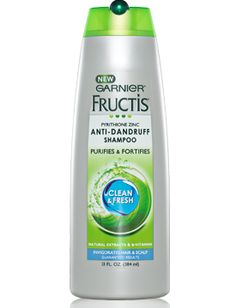 Garnier Fructis Anti-Dandruff Shampoo.  Works great, doesn't dry out your hair.