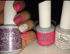20 best diy ibd gel nails images on pinterest gel nails bricolage pink sparkles ibd gel nails solutioingenieria Image collections