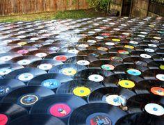 Vinyl Record Roof
