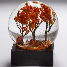 Autumn Waterglobe