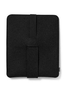 Dekoop iPad beschermhoes Babuschka in zwart vilt