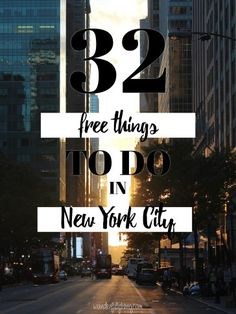 32 Free Things to do in New York City