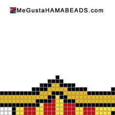 hama beads plantillas barcelona 2 barça fcbarcelona