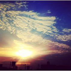 Sunrise. Okinawa, Japan