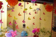 Blog AF | Por Malu Mafra: Borboletas de Papel - Decoração ♥