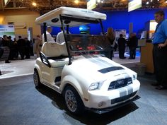 Ford Mustang Golf Cart