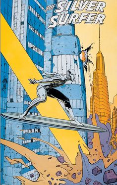 The Silver Surfer by Moebius