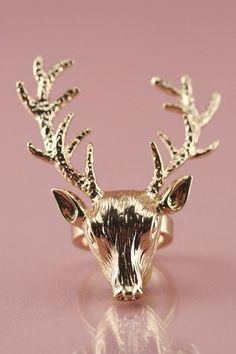 Deer Ring  SOOOO Game of Thrones!