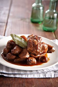 A melting of spice, quince, chestnut and apple with pork; you may substitute with beef or lamb!